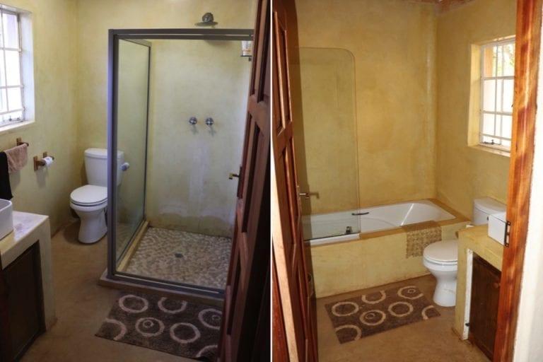 Murchison view cottage bathrooms