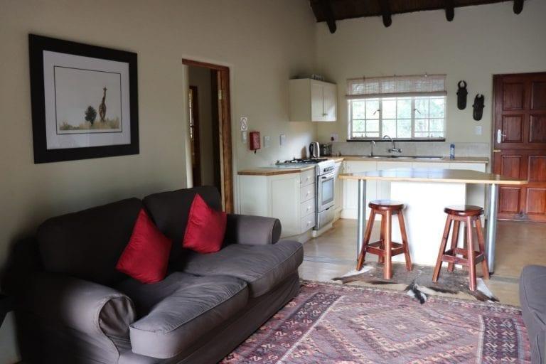 Murchison view cottage kitchen